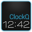 ClockQ – Digital Clock Widget logo