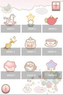 SANRIO CHARACTERS Memo2 - screenshot thumbnail