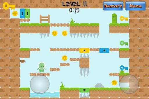 【免費街機App】Little Green Men-APP點子