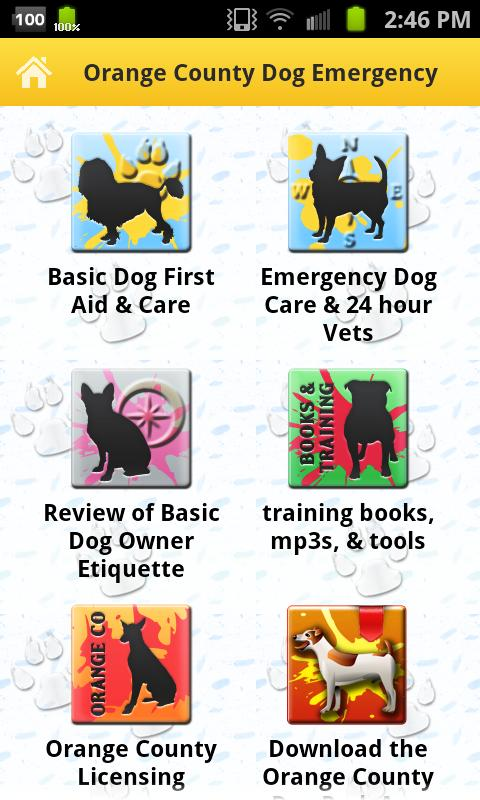 Orange County Dog First Aid - screenshot
