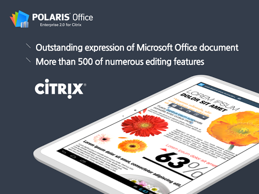 玩免費商業APP|下載Polaris Office for Citrix app不用錢|硬是要APP