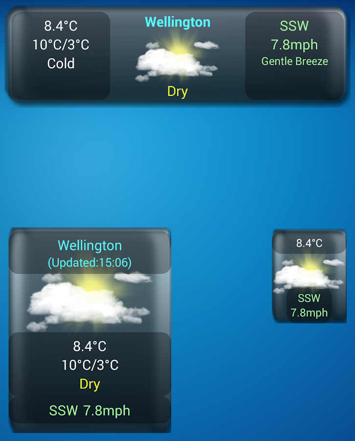 WeatherView Free- screenshot