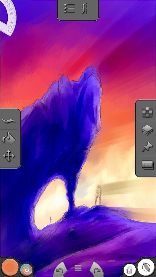Infinite Painter (Galaxy Note) - screenshot