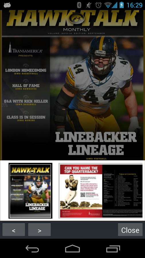 Hawk Talk Monthly- screenshot