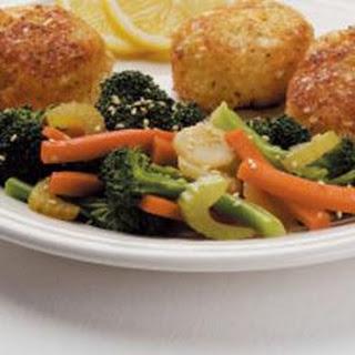 Sesame Steamed Vegetables.