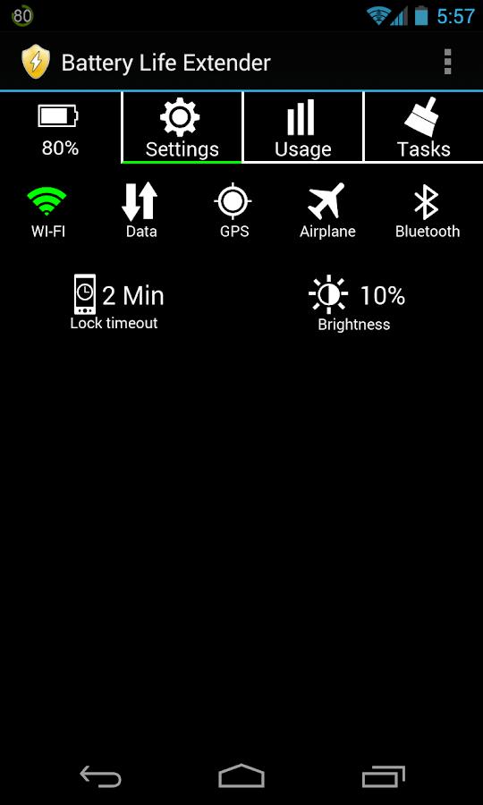 Avoid battery life extender apps