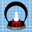 MakerAR Snow Globe icon