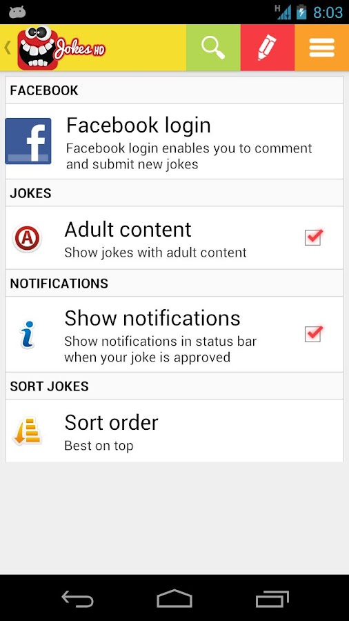 Funny Dirty Jokes for Adults - screenshot