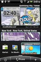 Screenshot of 9s-Weather Theme+(Comics)