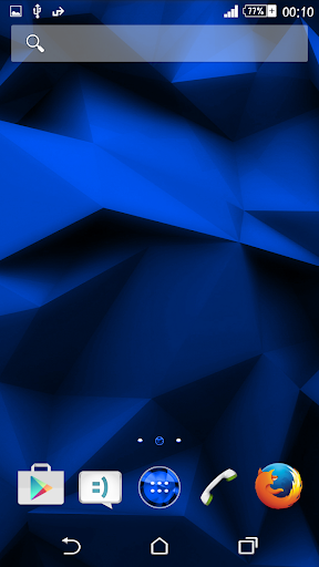 eXperiance Theme Blue Polygons