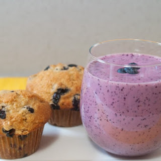 Blueberry-Honey Breakfast Shake