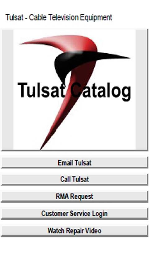 Tulsat Catalog - screenshot