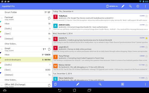 Aqua Mail - email app - screenshot thumbnail
