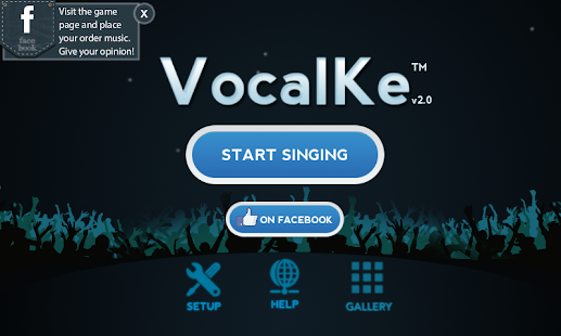 VocalKe Karaoke- screenshot thumbnail