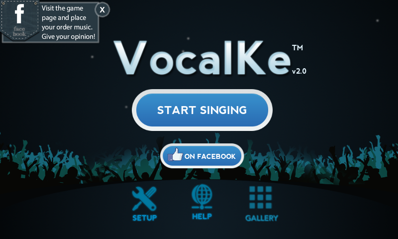 VocalKe Karaoke - screenshot