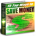 15 Top Ways To Save Money icon