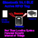 Bluetooth V4.1 BLE Tag setup