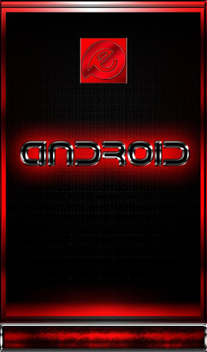 Red Dream HD EvolveSms Theme