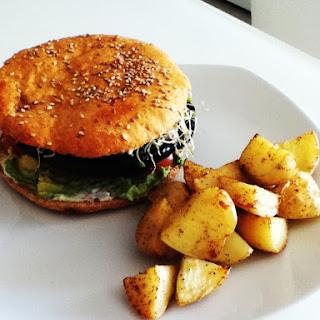 Sinless Portabella Burger.