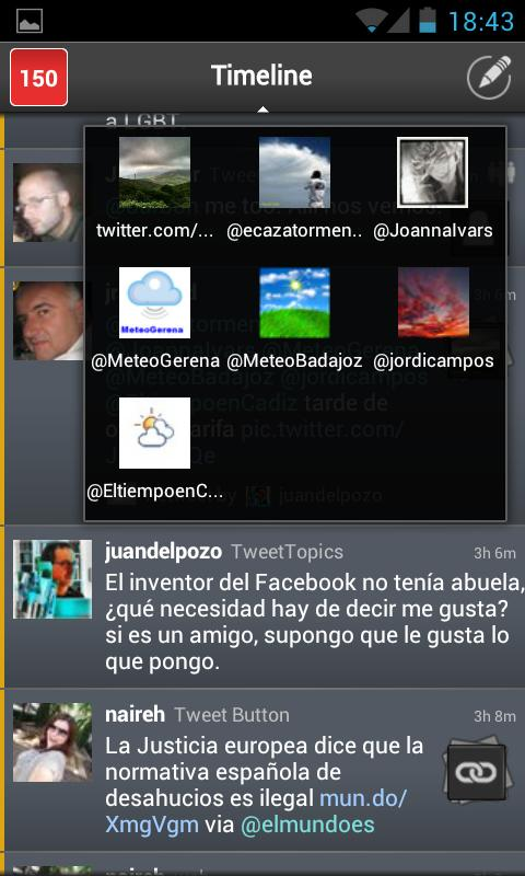 TweetTopics 2.0 (Beta)- screenshot