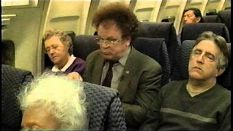 Dr. Brule's First Plane Ride