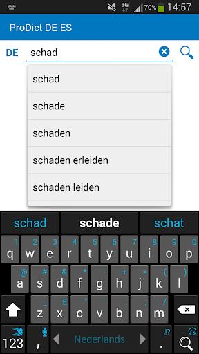 German - Spanish dictionary