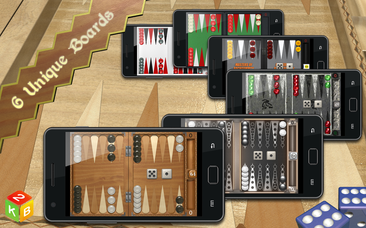 Backgammon Masters Free - screenshot