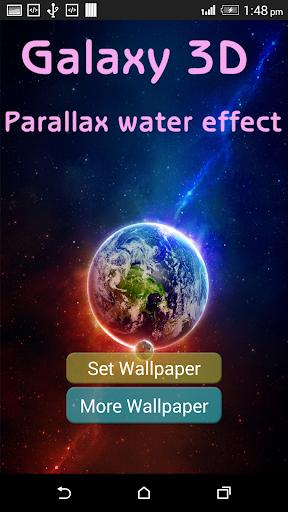 Galaxy 3D Parallax Water LWP
