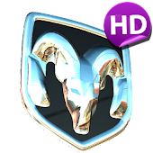 3D DODGE Logo HD LWP