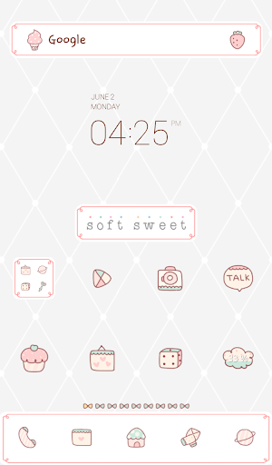 soft sweet dodol theme