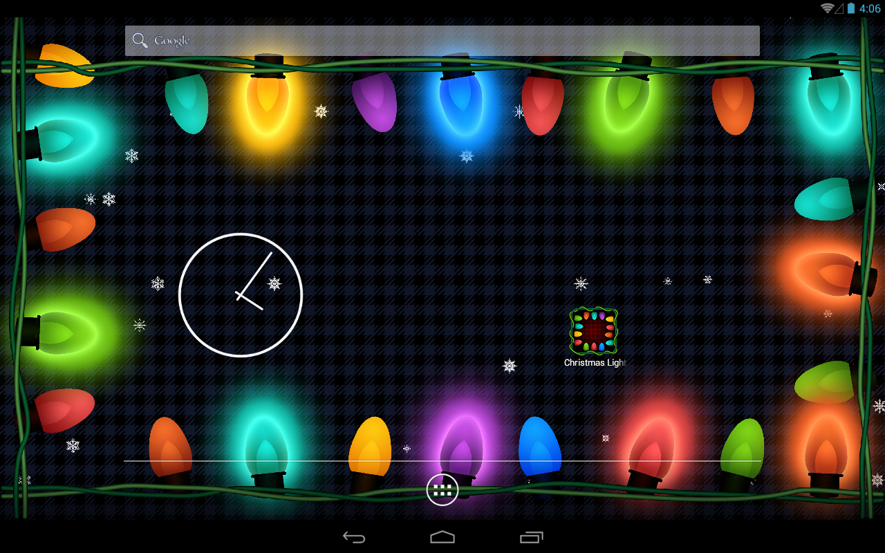 christmas lights hd wallpaper - android apps on google play