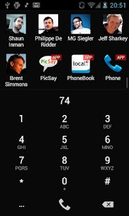 Keypad S: a super dialer - screenshot thumbnail