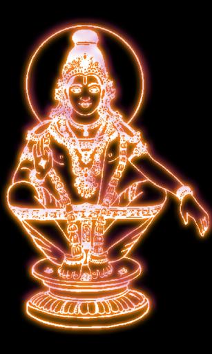 Neon Ayyappa Live Wallaper