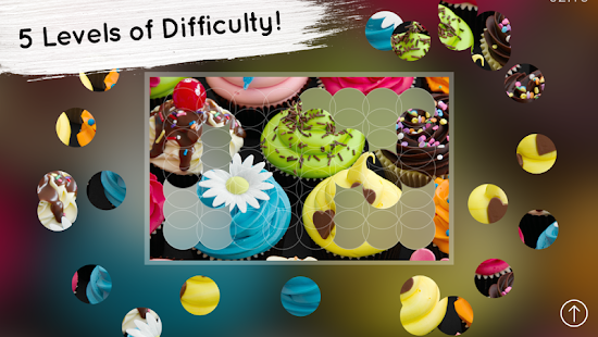 Venn Food: Circle Jigsaw- screenshot thumbnail