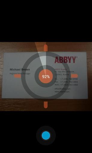 ABBYY Business Card Reader v3.1.1.9 APK