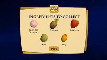 Screenshot of Carte d'Or Dessert Creator