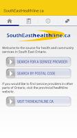 Screenshot of thehealthline.ca