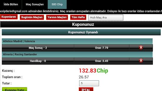 Kupon Takip (iddaa)- screenshot thumbnail