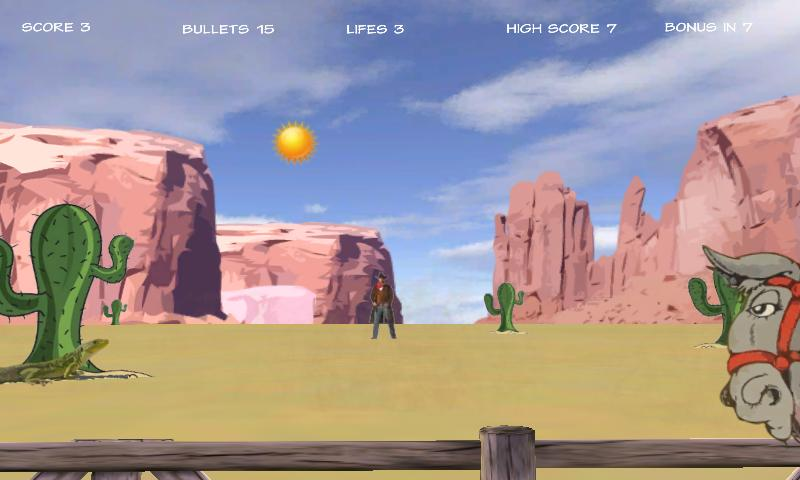 Cowboy Outlaws- screenshot