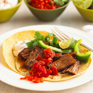 Mexican Beef and Tortillas