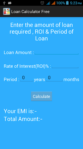 Loan Calculator Free
