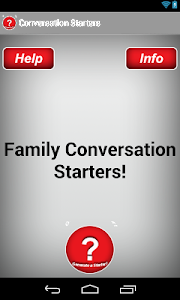 Family Conversation Starters screenshot 2
