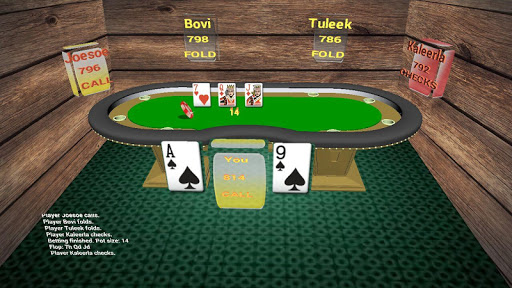 Texas holdem Poker 3D