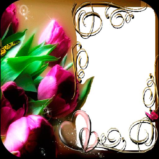Flowers Photo Frames LOGO-APP點子