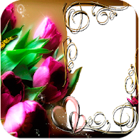 Flowers Photo Frames 10.1