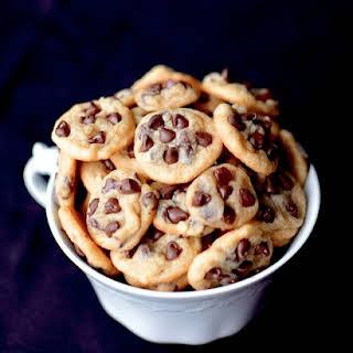 Mini Chocolate Chip Cookies.
