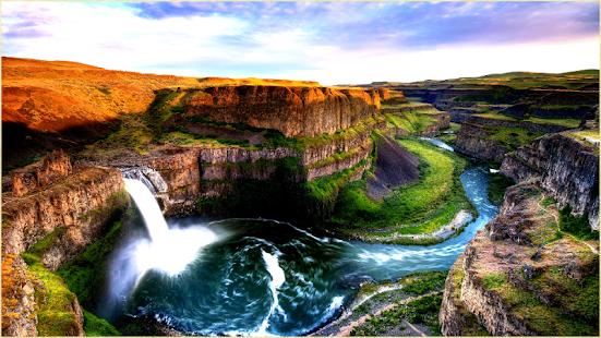 峽谷自然壁紙