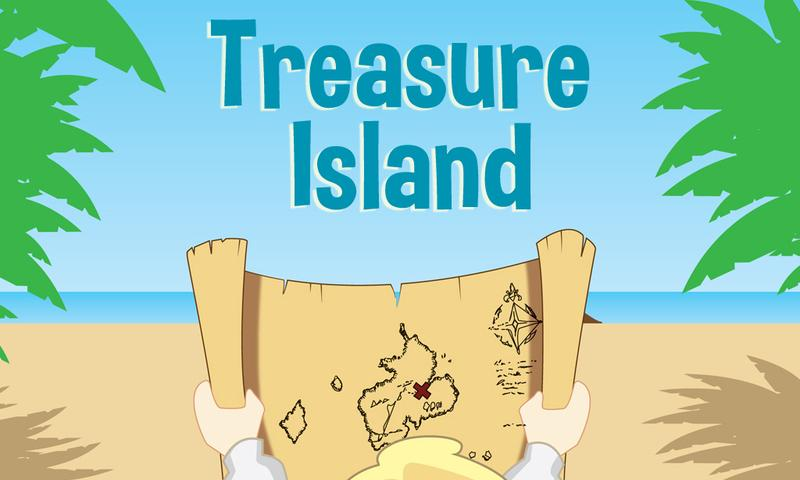 The treasure island- screenshot