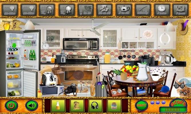 Red House Hidden Object Games - screenshot