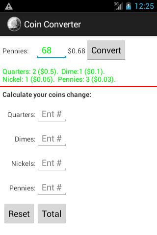 Coin Converter